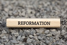 REFORMATION - Image With Words Associated With The Topic IMPEACHMENT, Word Cloud, Cube, Letter, Image, Illustration