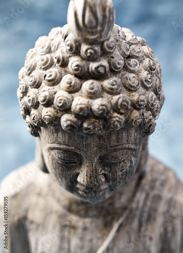 Photo  Gray Buddha Statue