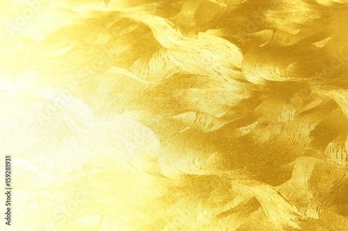 Fotografie, Obraz  金色の和紙 背景