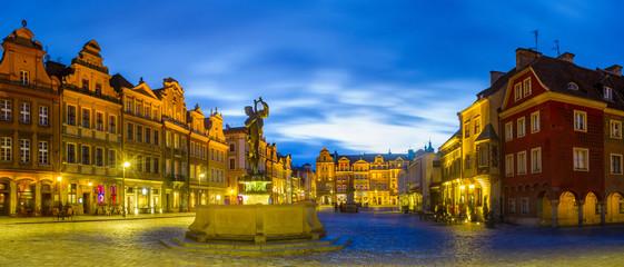 Fototapetamarket square in Poznan