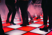 Red And White Lightup Dancefloor