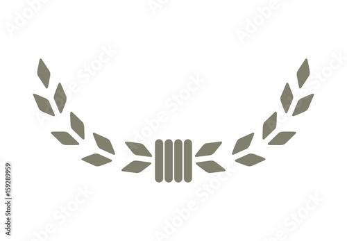 Fotografie, Obraz Laurel symbol vector