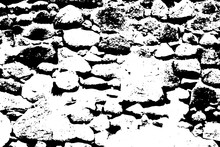 Old Stone Wall Vector Texture....