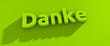 canvas print picture - Danke Schriftzug für Website oder Bestätigungsformular