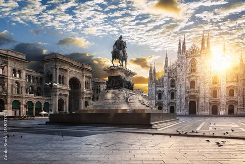 Garden Poster Milan Milano spirit
