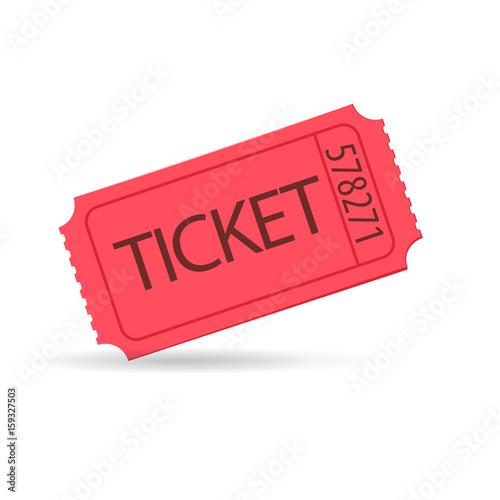 Cuadros en Lienzo red raffle ticket