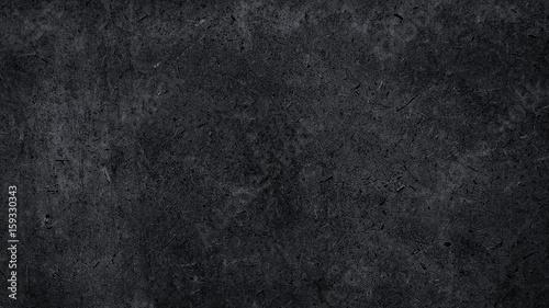 Türaufkleber Metall dark metal wallpaper with rock background. the art of abstract black texture