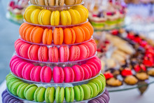 Delicious French Macarons And ...