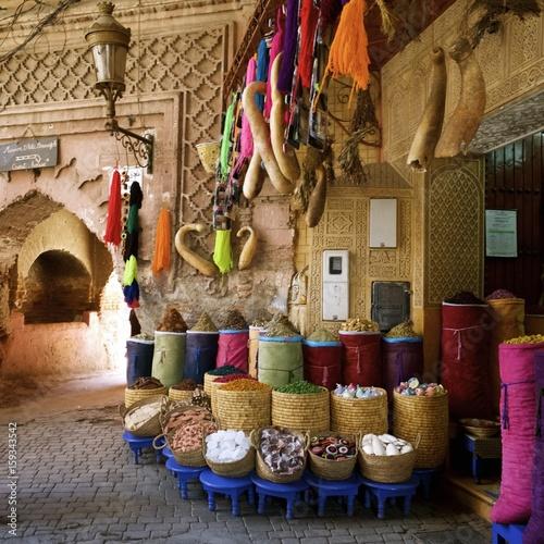 Spoed Foto op Canvas Marokko traditional