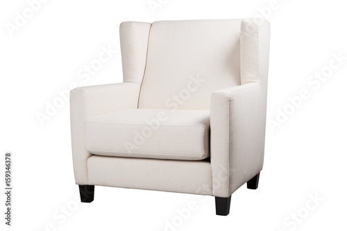 White armchair Wallpaper Mural