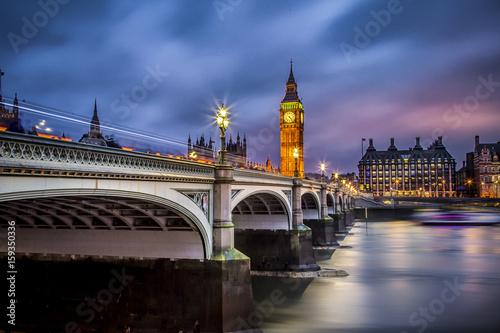 Poster London london bridge