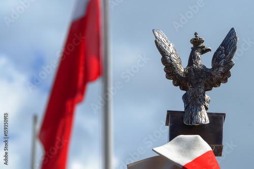 Plakat Polskie symbole narodowe