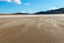 Windböen Am Strand