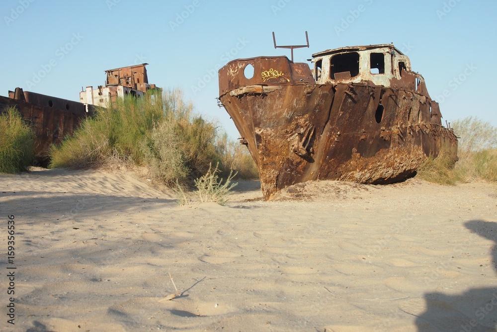 Moynaq Schiffsfriedhof Aralsee