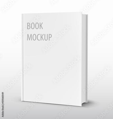 Fotografie, Obraz  Mockup of blank cover book