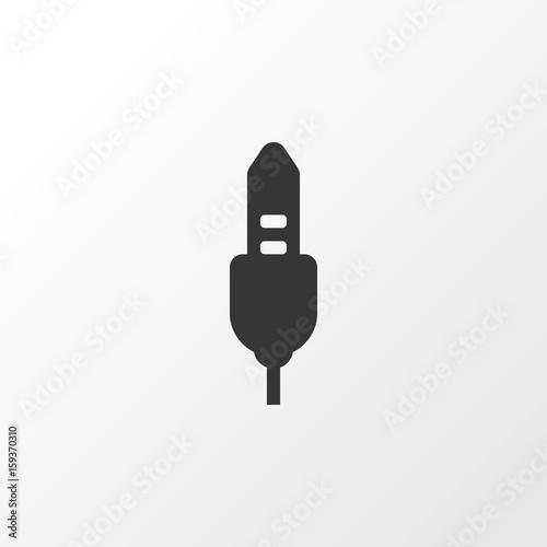 Audio Cable Icon Symbol Wallpaper Mural