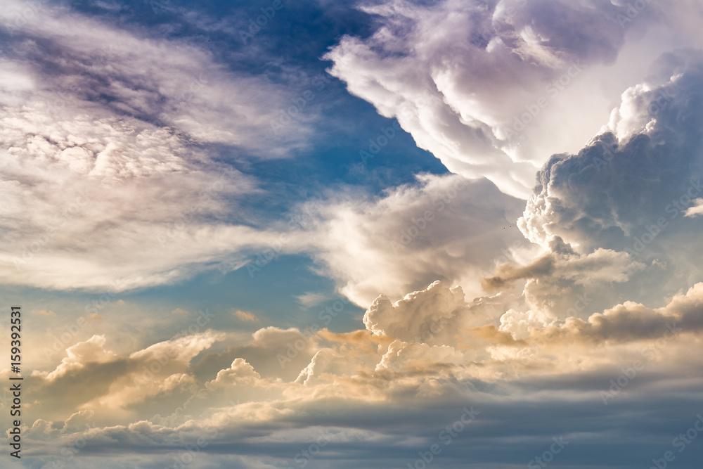 Fototapeta Dramatic Sunset Clouds