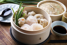 Traditional Chinese Dim Sum As...