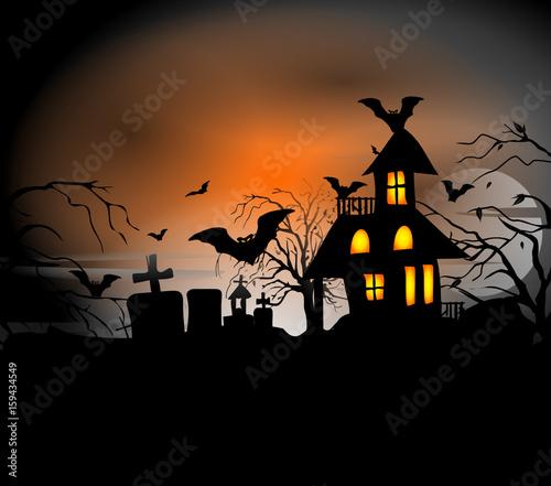 Photo illustration Halloween