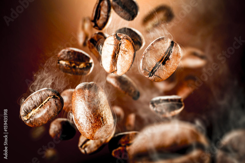 Photo sur Toile Café en grains coffee splash