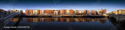 Bachelors Walk, River Liffey Dublin, Ireland Wallpaper Mural