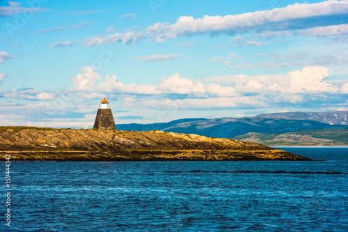 In de dag Noord Europa Lighthouse in Norway