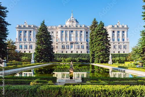 Foto  Royal Palace in Madrid