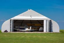 Hangar For Storage Of Plane.