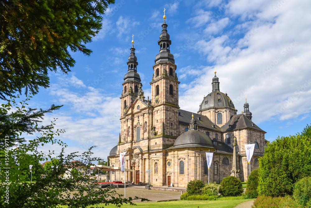 Fototapety, obrazy: Dom in Fulda / Hessen