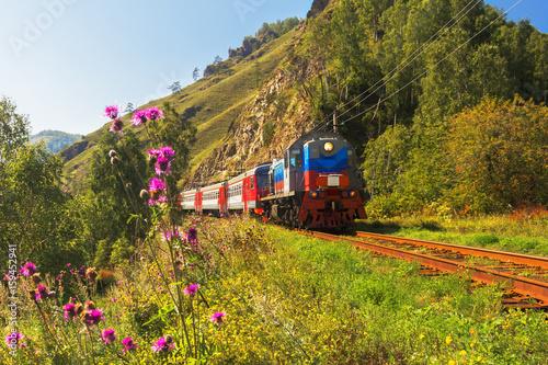 Photo The Baikal Railway