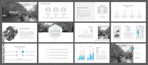 Fototapeta Minimalistic elements of infographics for modern design style on a white background. Presentation templates, flyer and leaflet, corporate report, marketing, advertising, annual report and banner. obraz