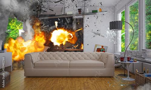 Foto Assicurazione Scoppio incendio casa, terremoto