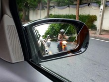 Side View Mirror With Motorcyc...