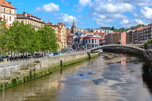 Old town of Bilbao, Basque Country, Spain Wallpaper Mural