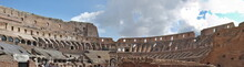 Inside Of Colosseum In Rome, I...