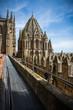 Panorama hermoso de Salamanca, con la Catedral gótico-románica España
