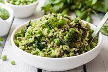 Veggie Rice With Green Vegetab...