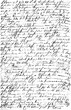 Leinwanddruck Bild - Handwritten text. Grunge paper texture background