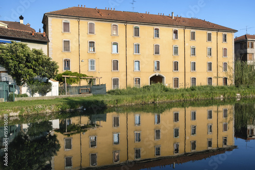 Naviglio Pavese from Pavia to Milan (Italy) Wallpaper Mural