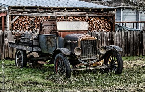 In de dag Vintage cars vehicle