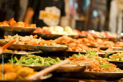 In de dag Bangkok food