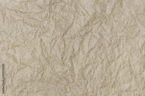 Photo  Background of crumpled wrapping paper