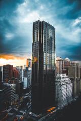 Obraz na płótnie Canvas skyscraper