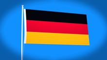 The National Flag Of German