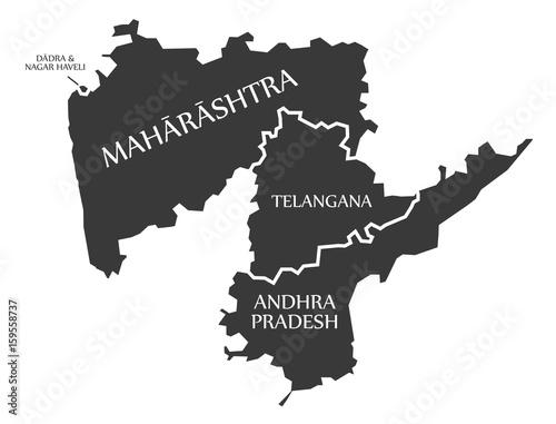 Dadra and Nagar Haveli - Maharashtra - Telangana - Andhra Pradesh ...