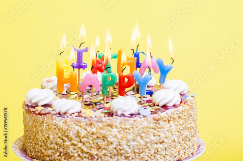 birthday cake background - Buy this stock photo and explore