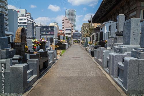 Photo sur Toile Cimetiere buddhist cemetery