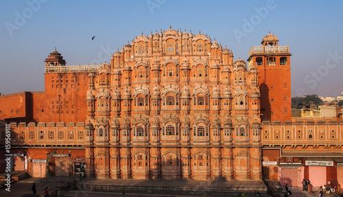 Fotobehang India Indien - Rajasthan - Jaipur - Palast der Winde