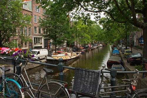 Photo  Die Gracht in Amsterdam