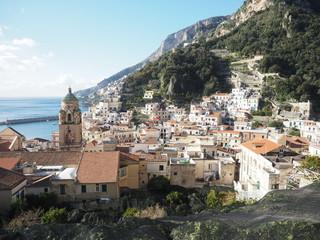 Fototapeta na wymiar Amalfi View